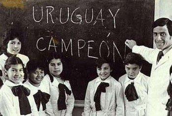 Oscar Washington Tabarez a été enseignant à la fin des années 1960. Photo : Gouvernement d'Uruguay