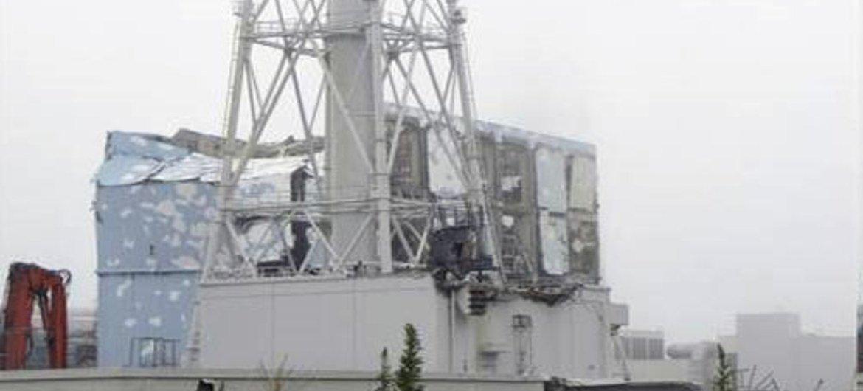 La centrale nucléaire endommagée de Fukushima Daiichi. Photo : UNSCEAR/F. Shannoun