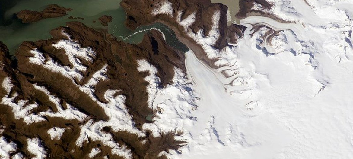 Jorge Montt Glacier, Southern Patagonian Ice Field, Chile.