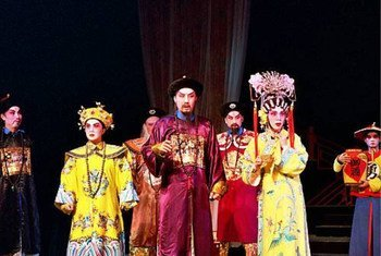 Opéra de Yueju, tradition chinoise.