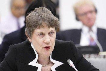 UNDP Administrator Helen Clark.