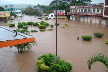 Curfews in place as flooding continues in Nadi, Ba, Fiji.