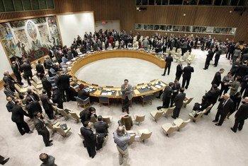 Le Conseil de sécurité. Photo ONU/JC McIlwaine