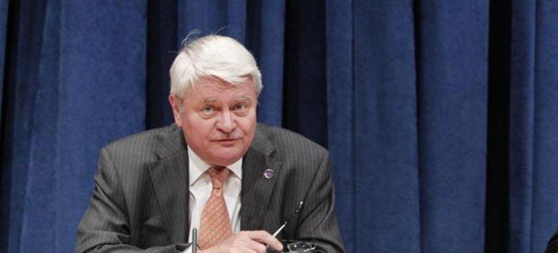 Le Secrétaire général adjoint aux opérations de maintien de la paix, Hervé Ladsous. Photo ONU/JC McIlwaine