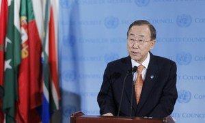 Le Secrétaire général Ban Ki-moon. Photo ONU/JC McIlwaine