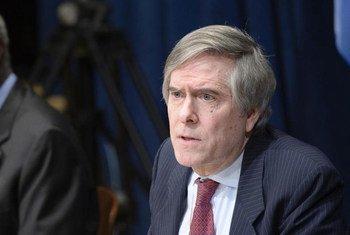 Edward Luck, ex asesor de la ONU para el principio de la responsabilidad de proteger. Foto: ONU/Mark Garten