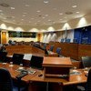 Courtroom 1 of the International Criminal Tribunal for the former Yugoslavia (ICTY).