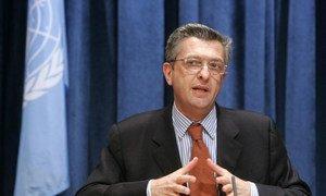 Le Commissaire général de l'UNRWA, Filippo Grandi. Photo ONU/Devra Berkowitz