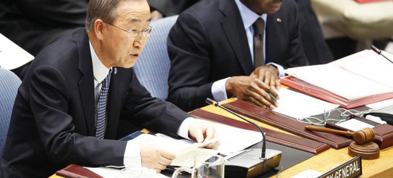 Ban Ki-moon (Foto de archivo: Devra Berkowitz)
