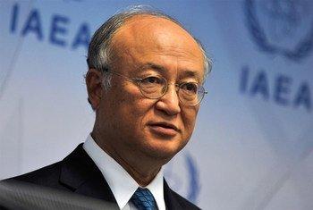 Le Directeur général de l'AIEA, Yukiya Amano. Photo AIEA/D. Calma