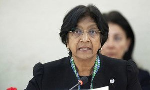 High Commissioner for Human Rights Navi Pillay addresses urgent debate on human rights and humanitarian situation in Syria.