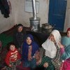 The stove prototype in Afghanistan takes fumes outside the home using a vent.