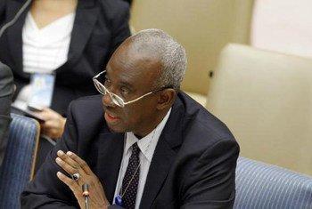 Chief Prosecutor of the International Criminal Tribunal for Rwanda (ICTR) Hassan Bubacar Jallow.