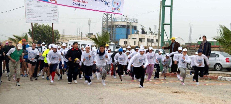 Maratón de Gaza 2012