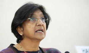High Commissioner for Human Rights Navi Pillay. UN/Jean-Marc Ferré