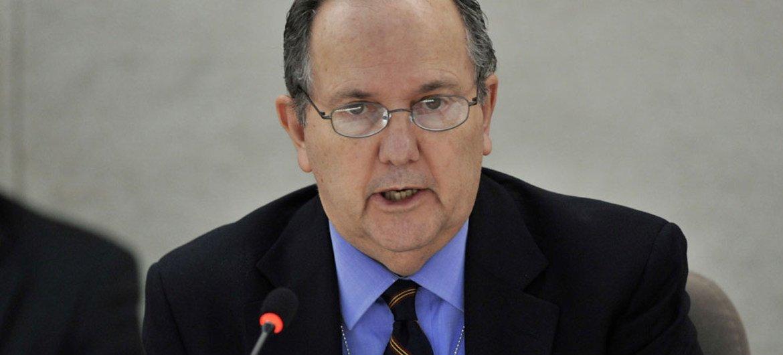 Special Rapporteur on torture Juan E. Méndez.