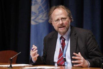 Special Rapporteur on freedom of religion or belief Heiner Bielefeldt.