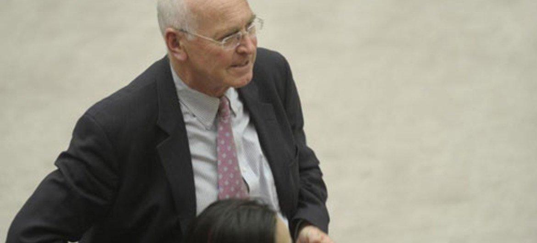 Special Representative Ian Martin.