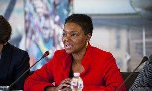 Under-Secretary-General for Humanitarian Affairs Valerie Amos.