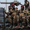 Tropas del SPLA