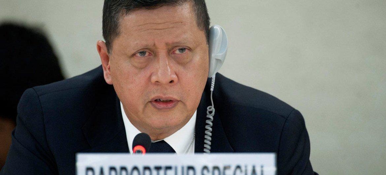 Marzuki Darusman, relator especial de la ONU sobre los derechos humanos en la República Popular Democrática de Corea. Foto: ONU/Jean-Marc Ferré