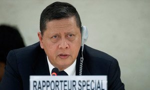 Special Rapporteur Marzuki Darusman.