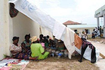 Des personnes sans abri à Brazzaville, la capitale de la République du Congo (archives). Photo HCR/C.Schmitt