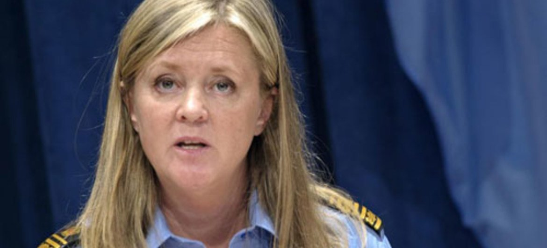 UN Police Adviser Ann-Marie Orler.