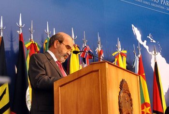 FAO Director-General José Graziano da Silva addresses the 32nd Regional Conference for Latin America and the Caribbean.