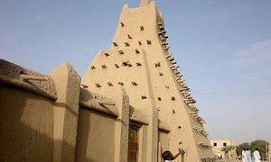 Sankore mosque, Timbuktu, Mali.
