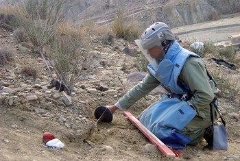 Engenheiro de minas trabalha no Afeganistão