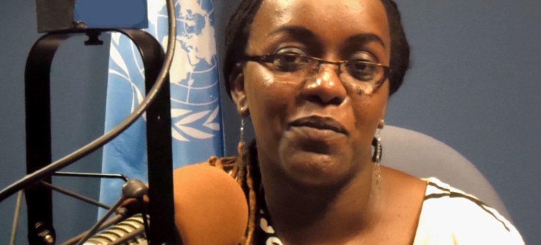 Rwandan playwright Odile Gakire Katese.