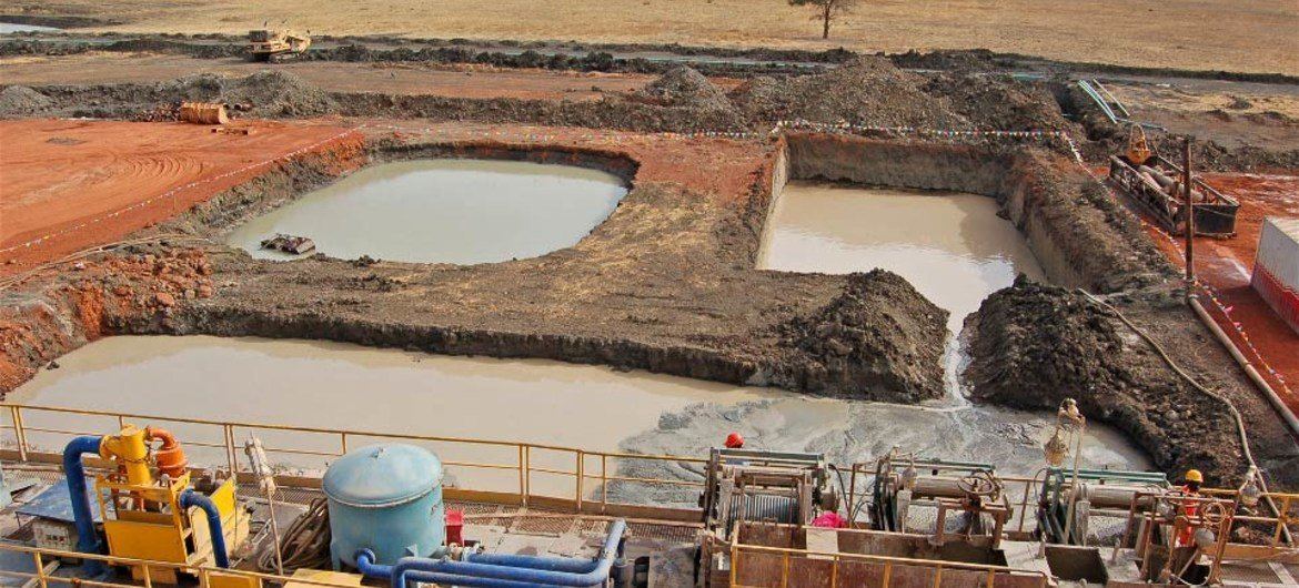 Almost half of Sudan's oil is pumped out of Heglig.