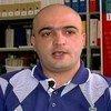 Le journaliste azebaïdjanais, Eynulla Fatullayev, lauréat du Prix mondial de la liberté de la presse UNESCO/Guillermo Cano 2012. Photo UNESCO
