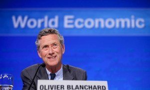 International Monetary Fund's Economic Counsellor Olivier Blanchard.