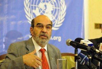المدير العام لمنظمة الأمم المتحدة للأغذية والزراعة،خوسيه غرازيانو دا سيلفاالمصدر: الفاو/ سيمون مينا