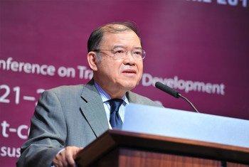 UNCTAD Secretary-General Supachai Panitchpakdi in Doha.