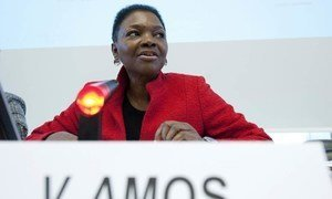 Under-Secretary-General for Humanitarian Affairs and Emergency Relief Coordinator Valerie Amos.