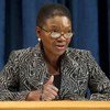 La Secrétaire générale adjointe des Nations Unies aux affaires humanitaires, Valerie Amos. Photo ONU/Eskinder Debebe