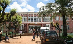 Ministry of Education in Bissau, Guinea-Bissau.
