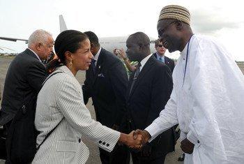 أعضاء مجلس الأمن في ليبريا