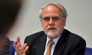 Chair of the UN Scientific Committee on the Effects of Atomic Radiation Wolfgang Weiss