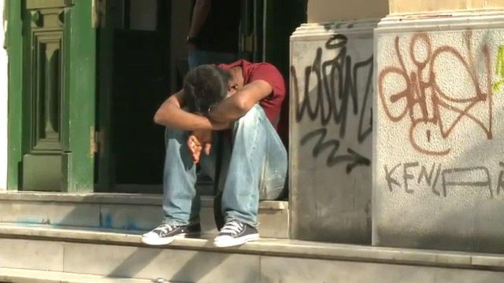 Joven desempleado. Foto: OIT