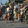 Desplazados en Kivu del Norte