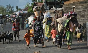Fighting in North and South Kivu provinces in the DRC has led to massive displacement, forcing tens of thousands of people to flee their homes.