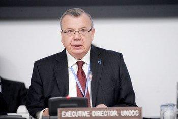 Le Directeur exécutif de l'ONUDC, Yuri Fedotov. Photo ONU/R. Bajornas