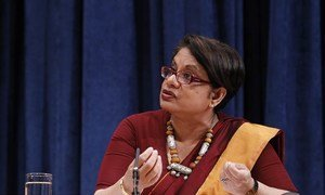 Special Representative for Children and Armed Conflict Radhika Coomaraswamy.