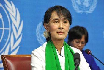 缅甸全国民主联盟主席昂山素季
