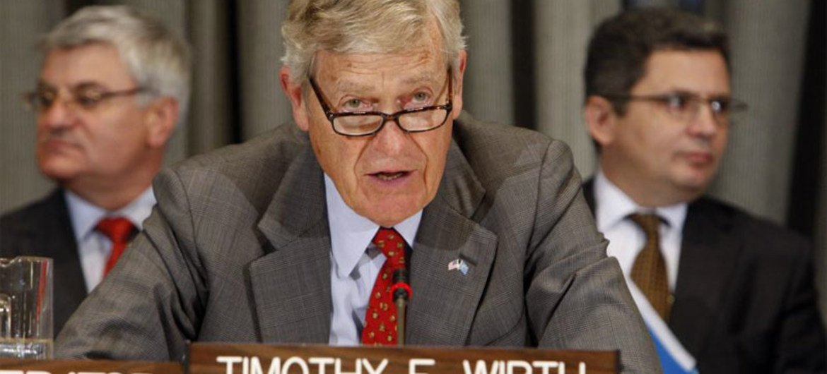 Timothy Wirth, member of the High-Level Group on Sustainable Energy for All.