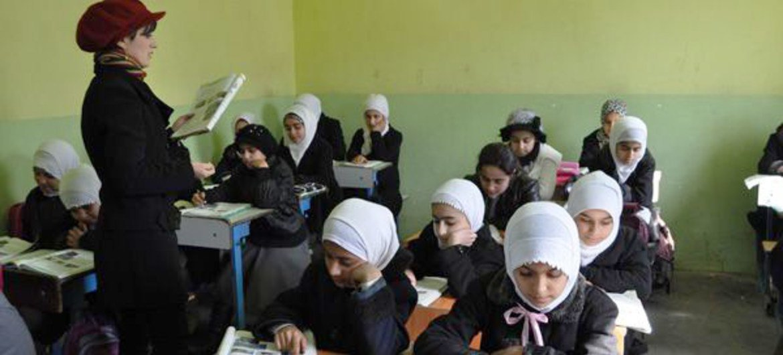 Students at a school in Kurdistan, Iraq. WFP/Abeer Etefa